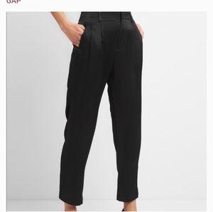 GAP satine cropped dress pant
